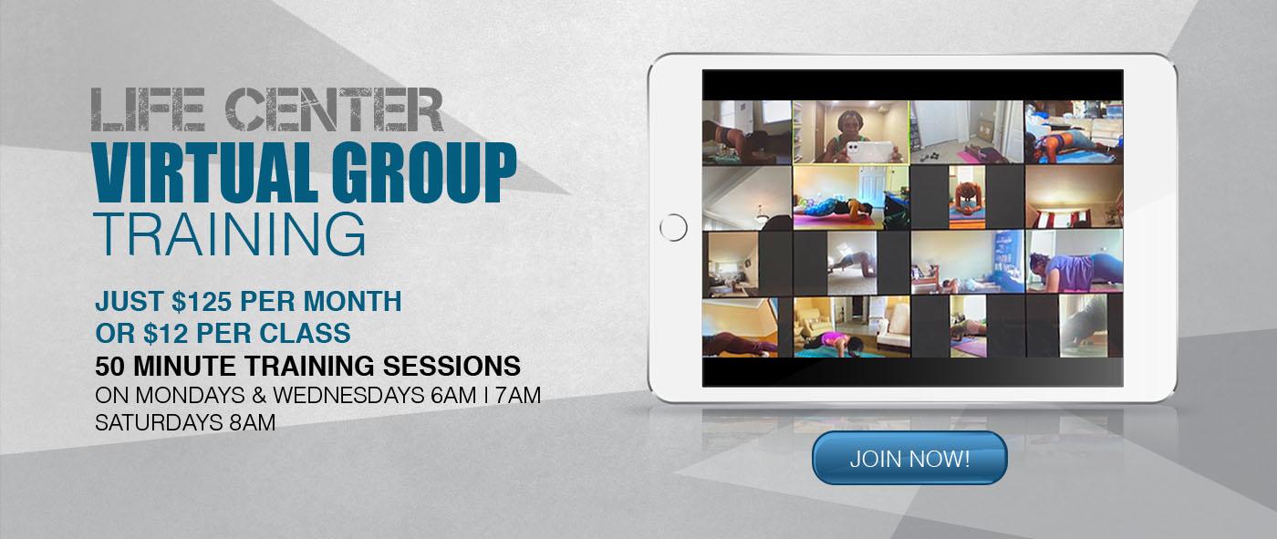 Life Center Virtual group Training